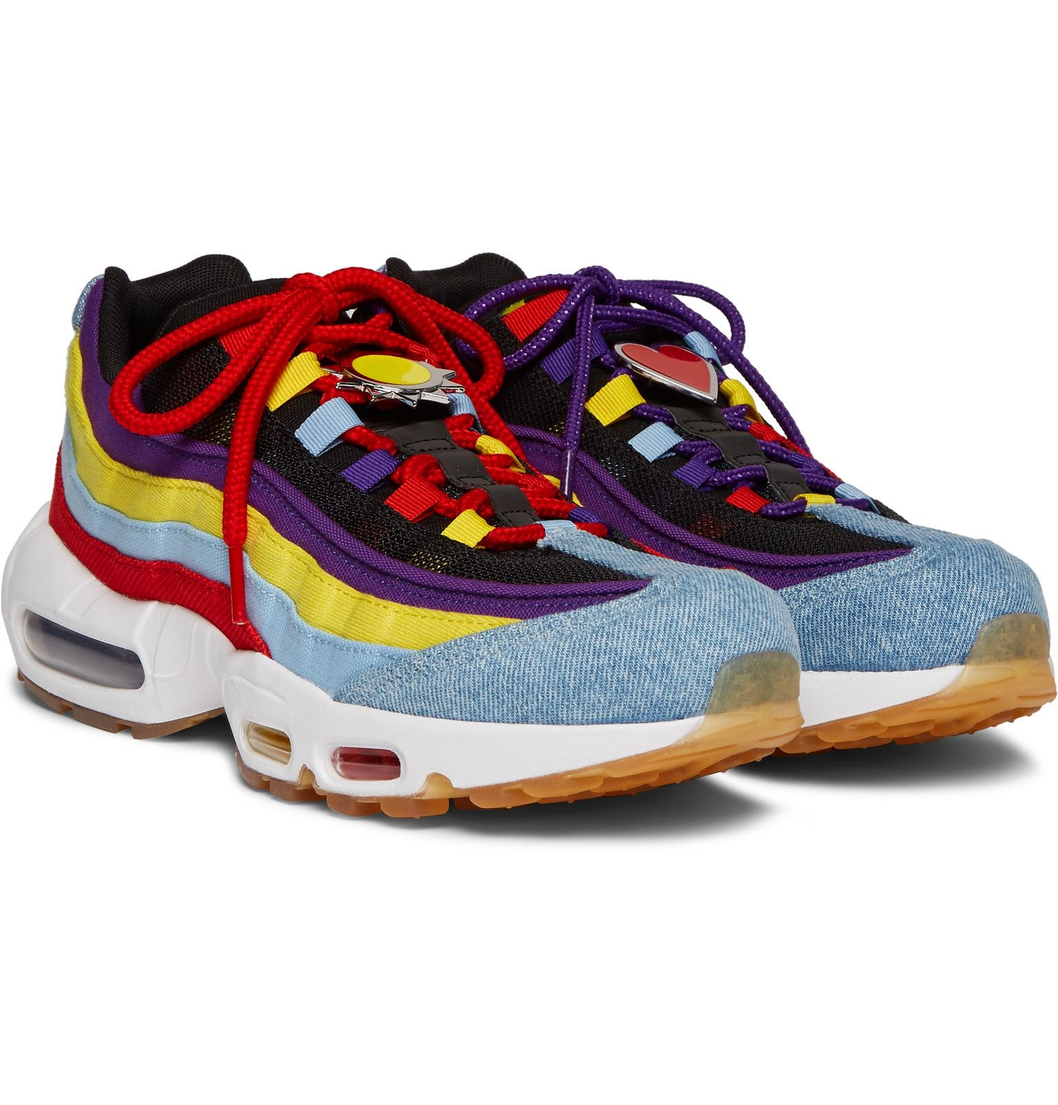 Air Max 95 SP Denim, Canvas and Mesh Sneakers by Nike   Thread.com
