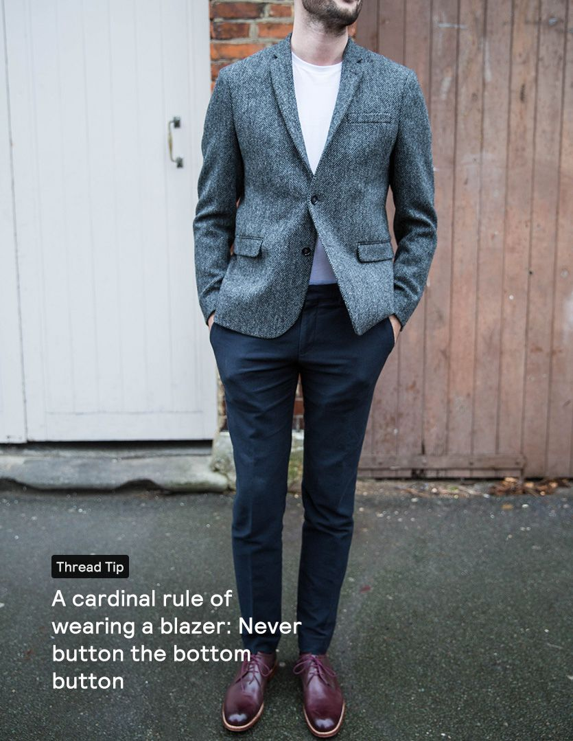 Combinations jacket trouser How To