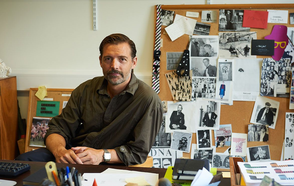 """Patrick Grant: """"Men want to wear interesting and fun clothes"""""""