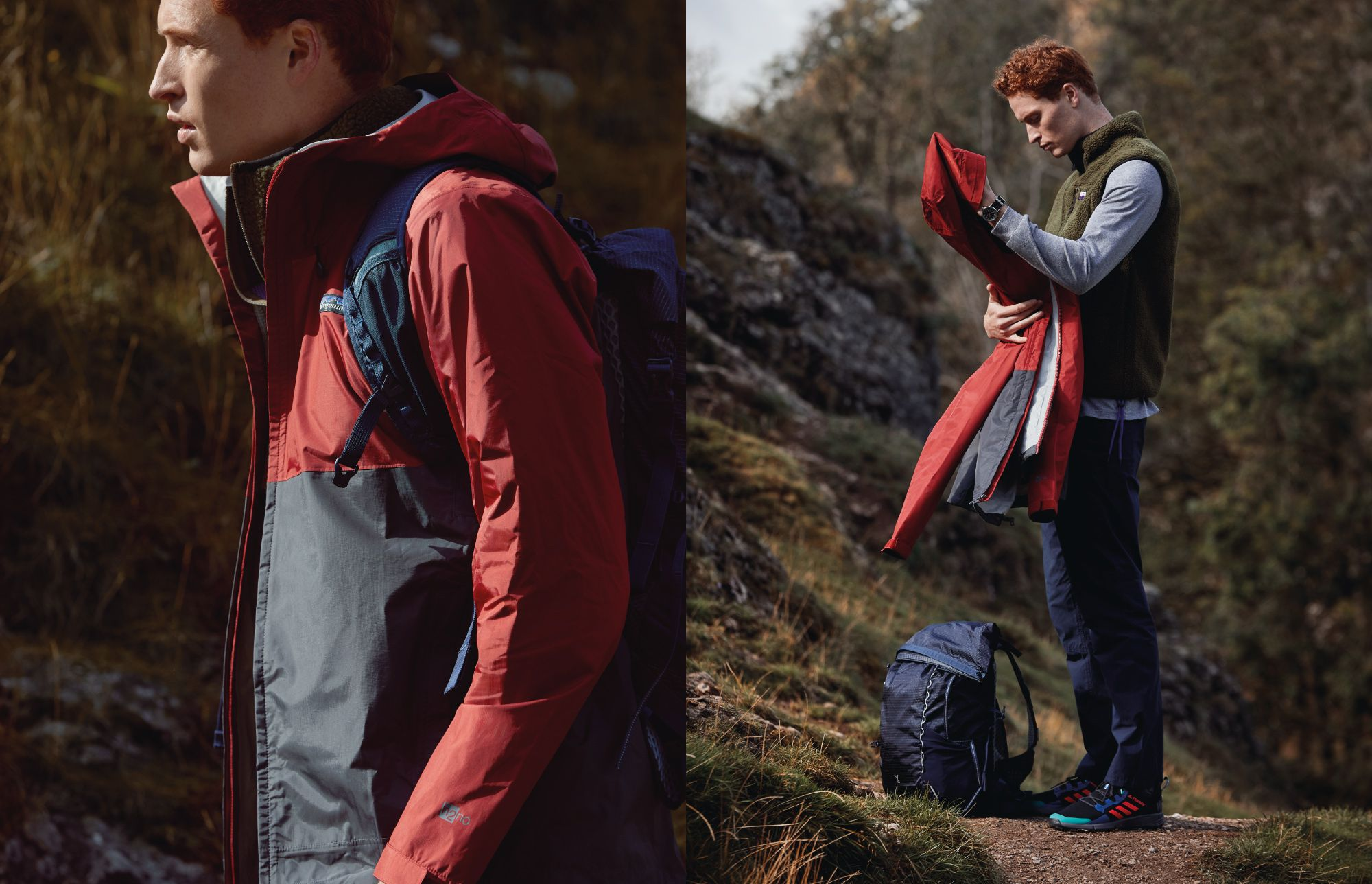 How to wear the hiking trend