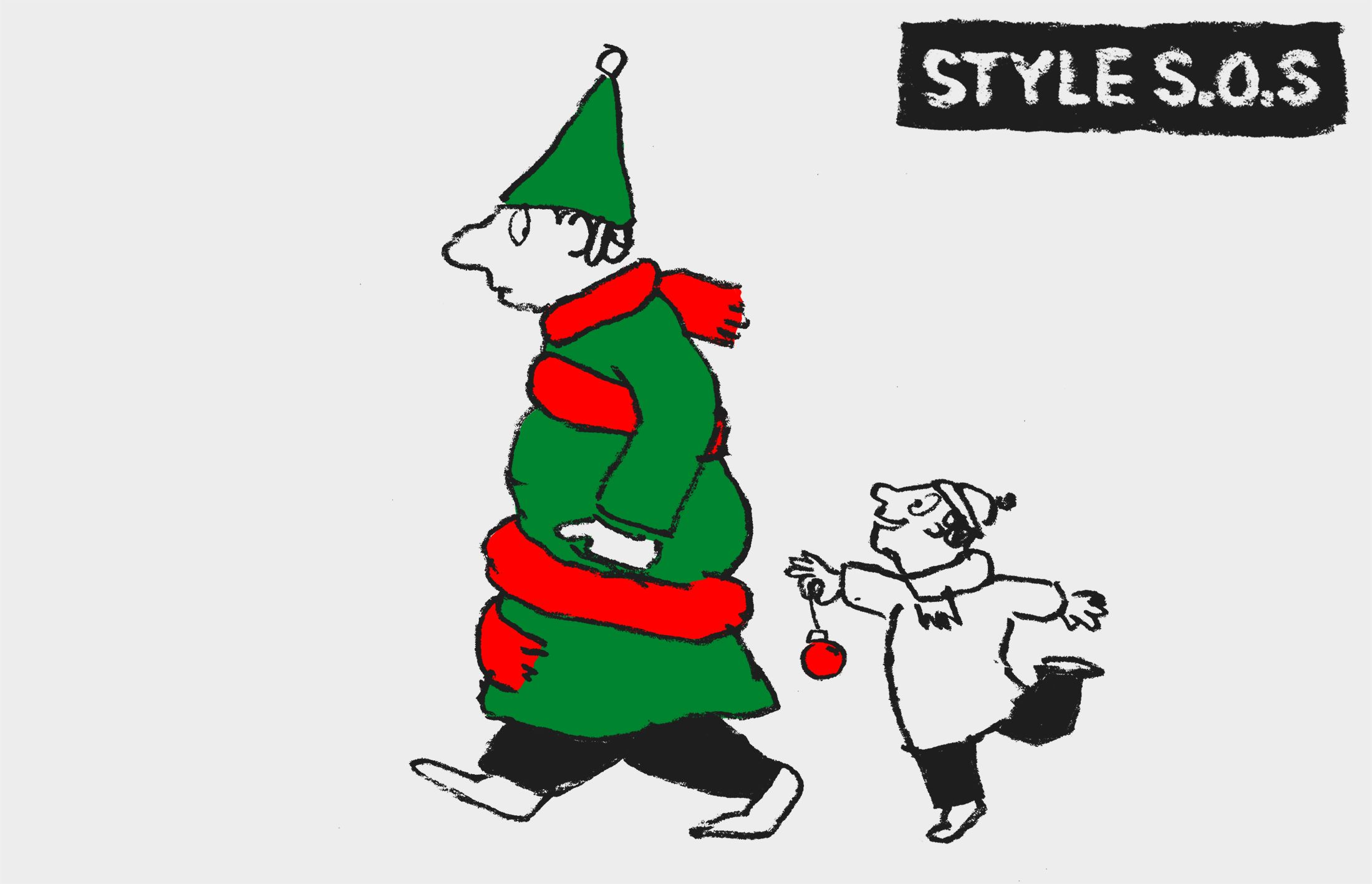Style SOS: Can I wear red and green together this Christmas?