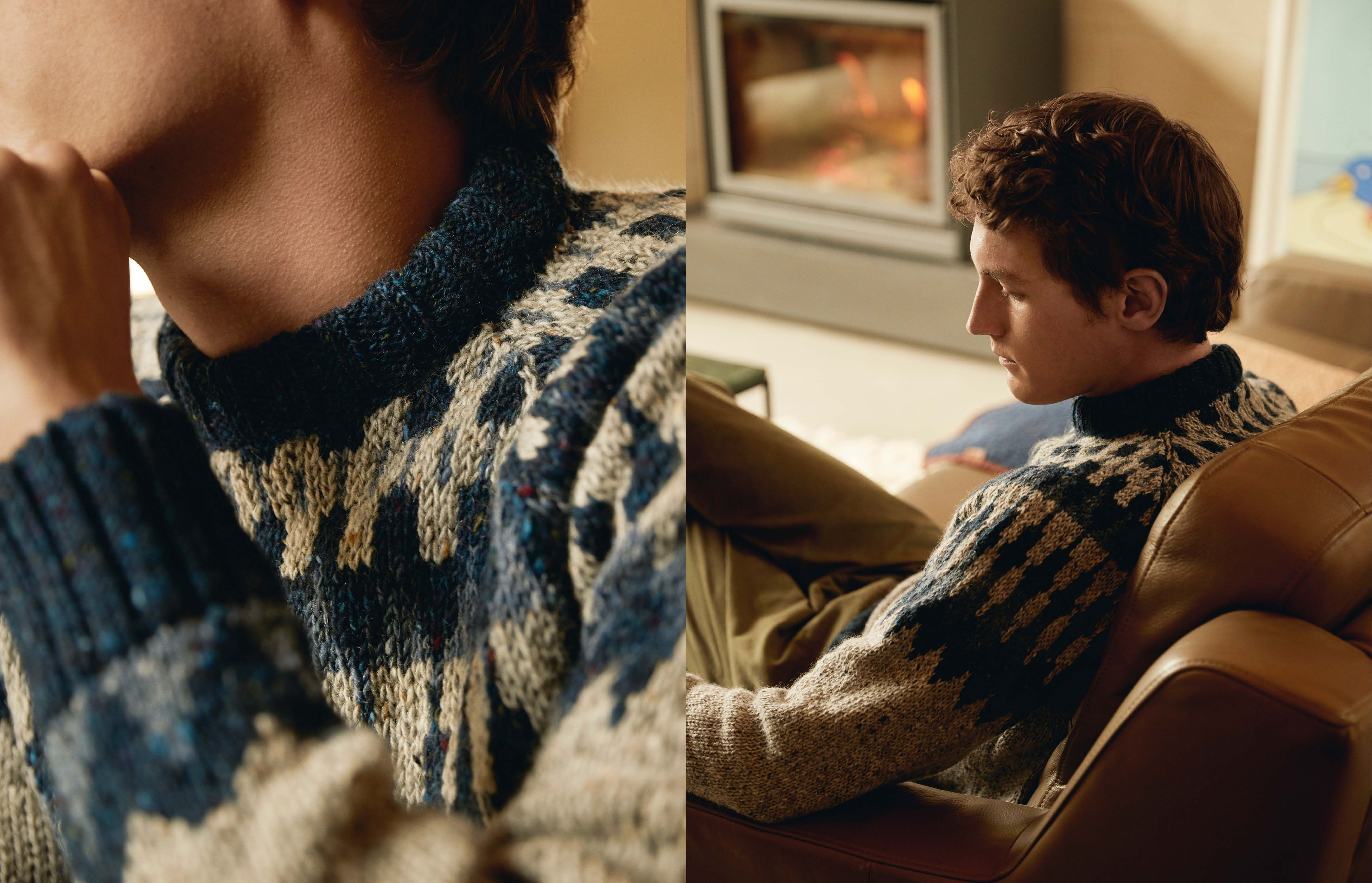 The case for a more wearable Christmas knit