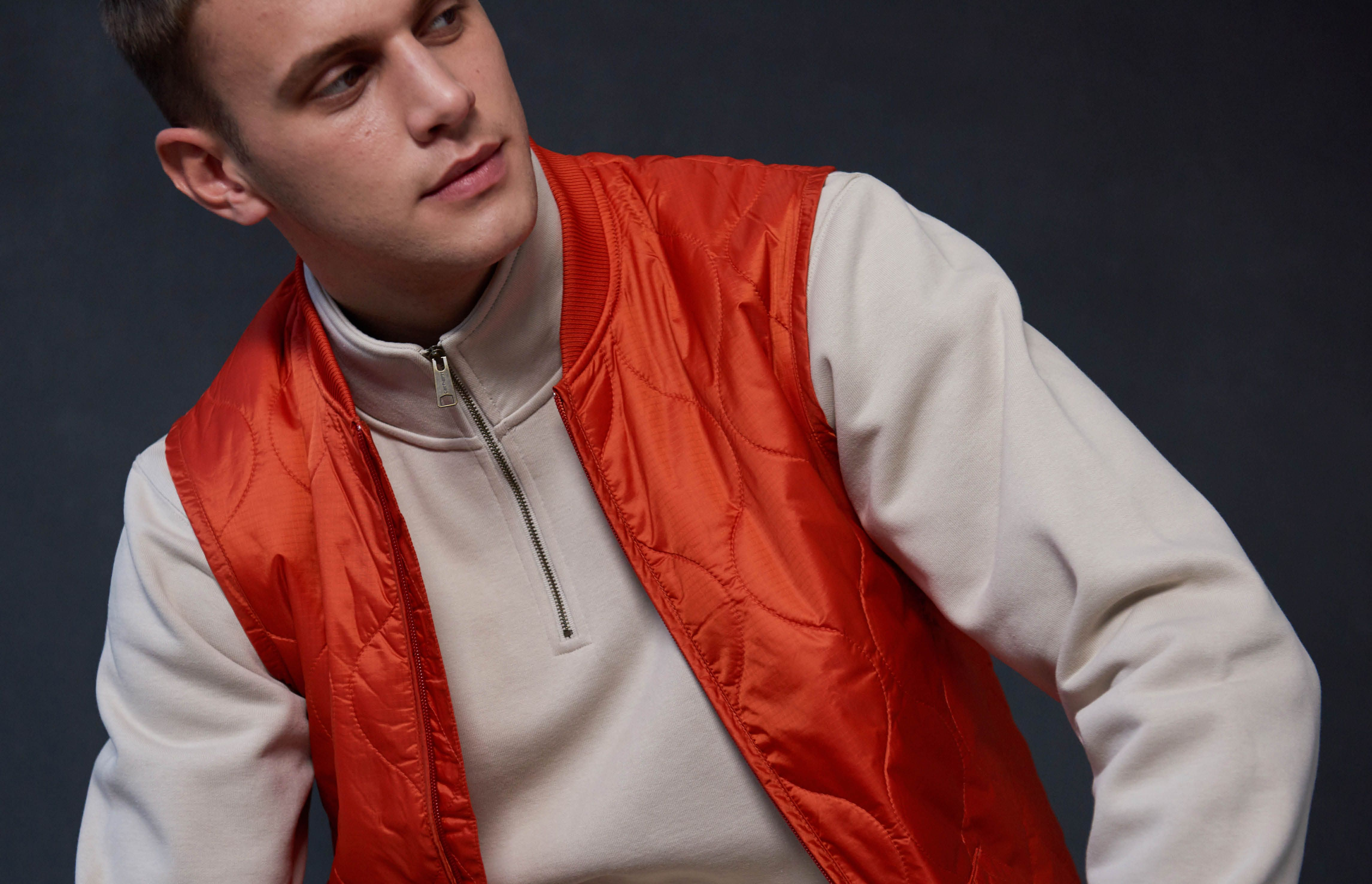 Why the humble half zip is a cold-weather must-have