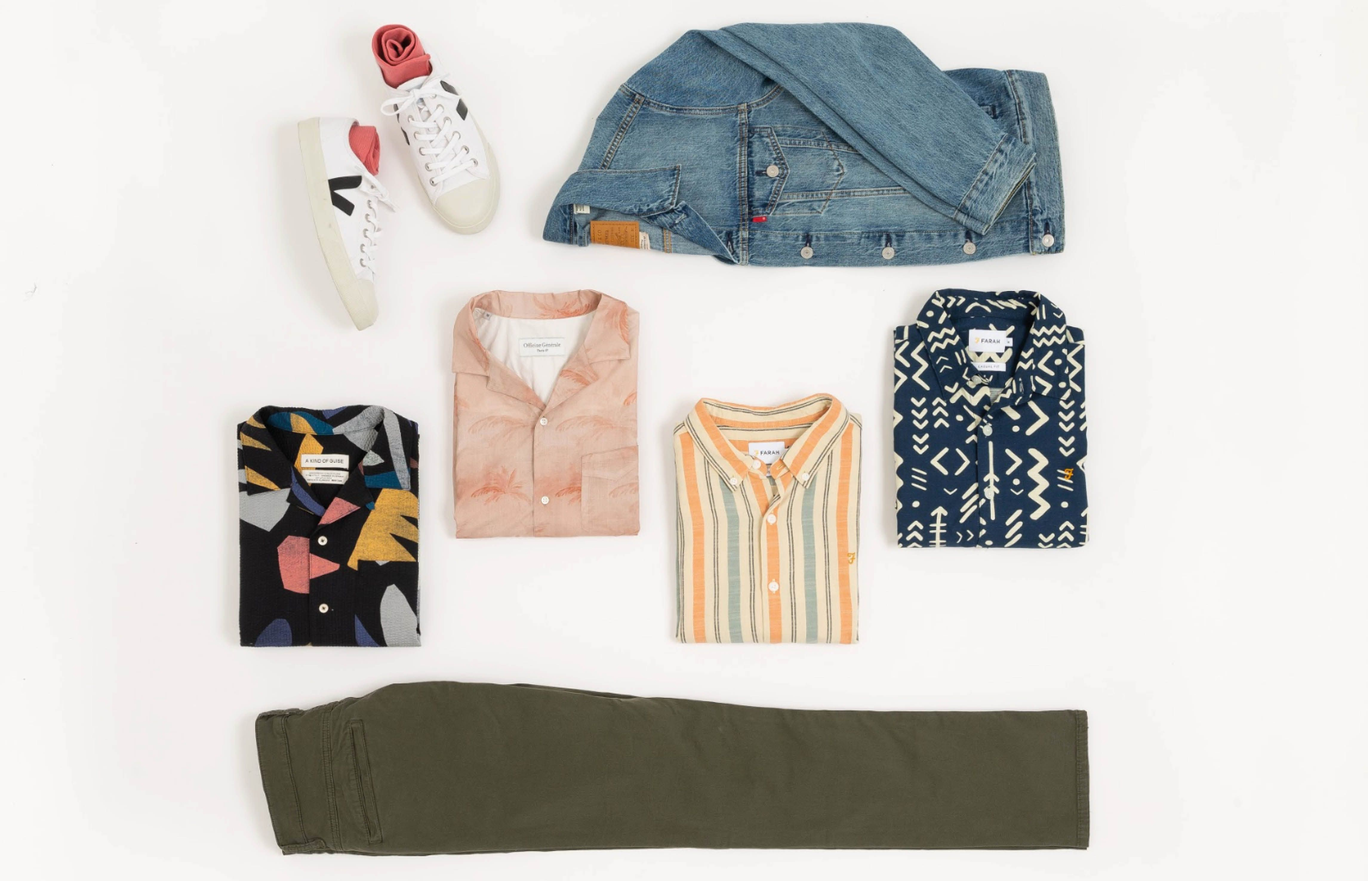 Why you should wear a patterned shirt this spring