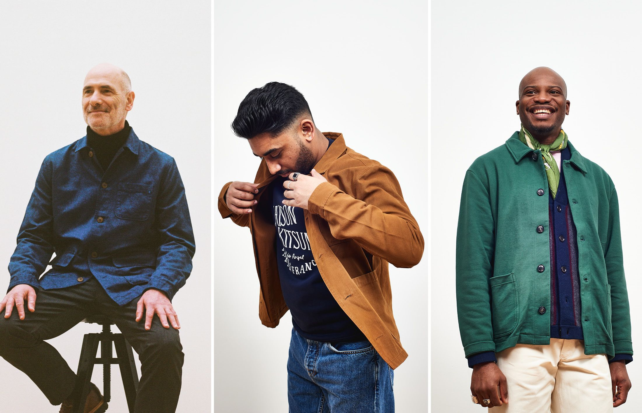 3 ways to wear a chore jacket right now