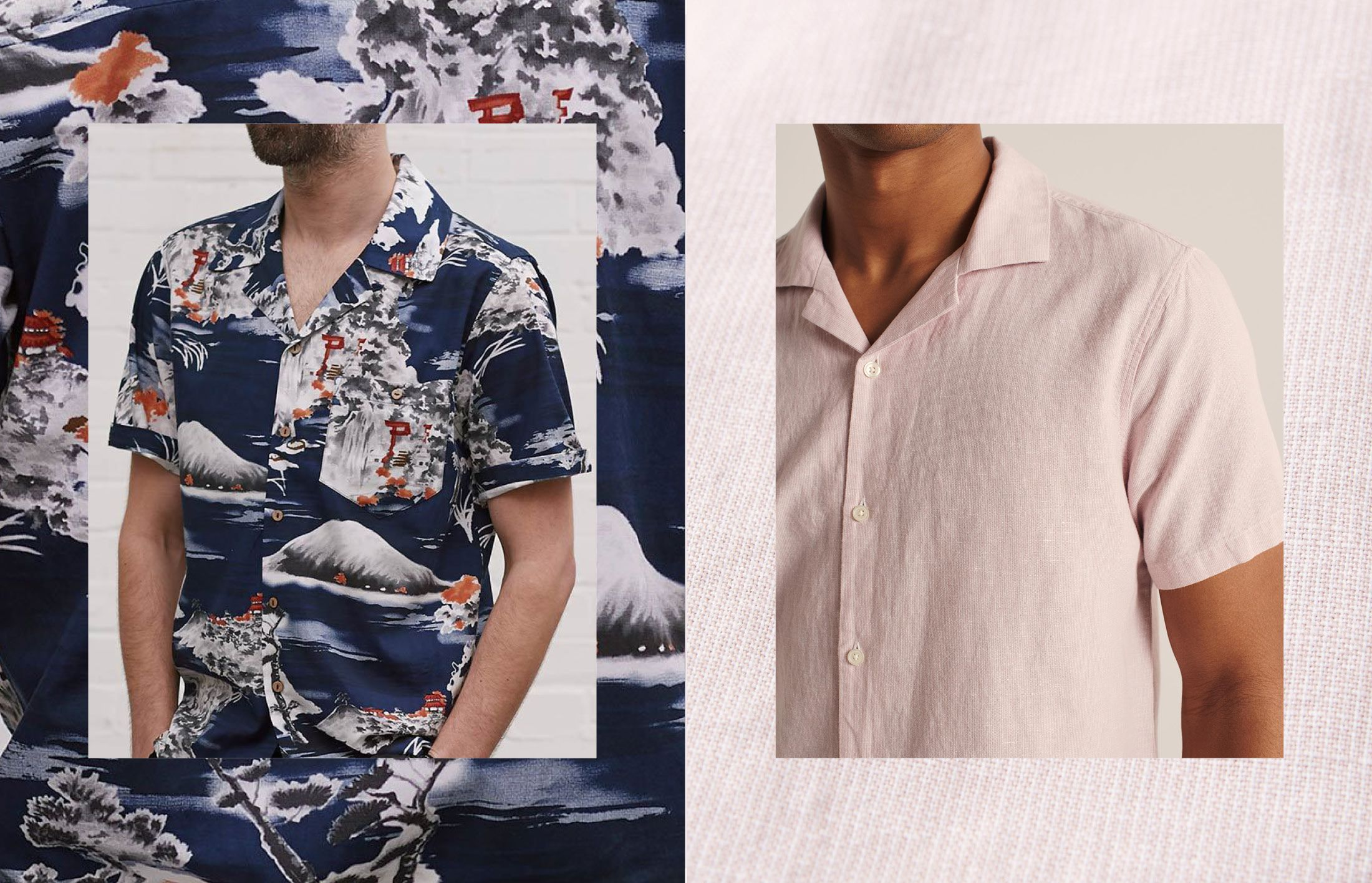 Our favourite short-sleeved shirts for every summer setting