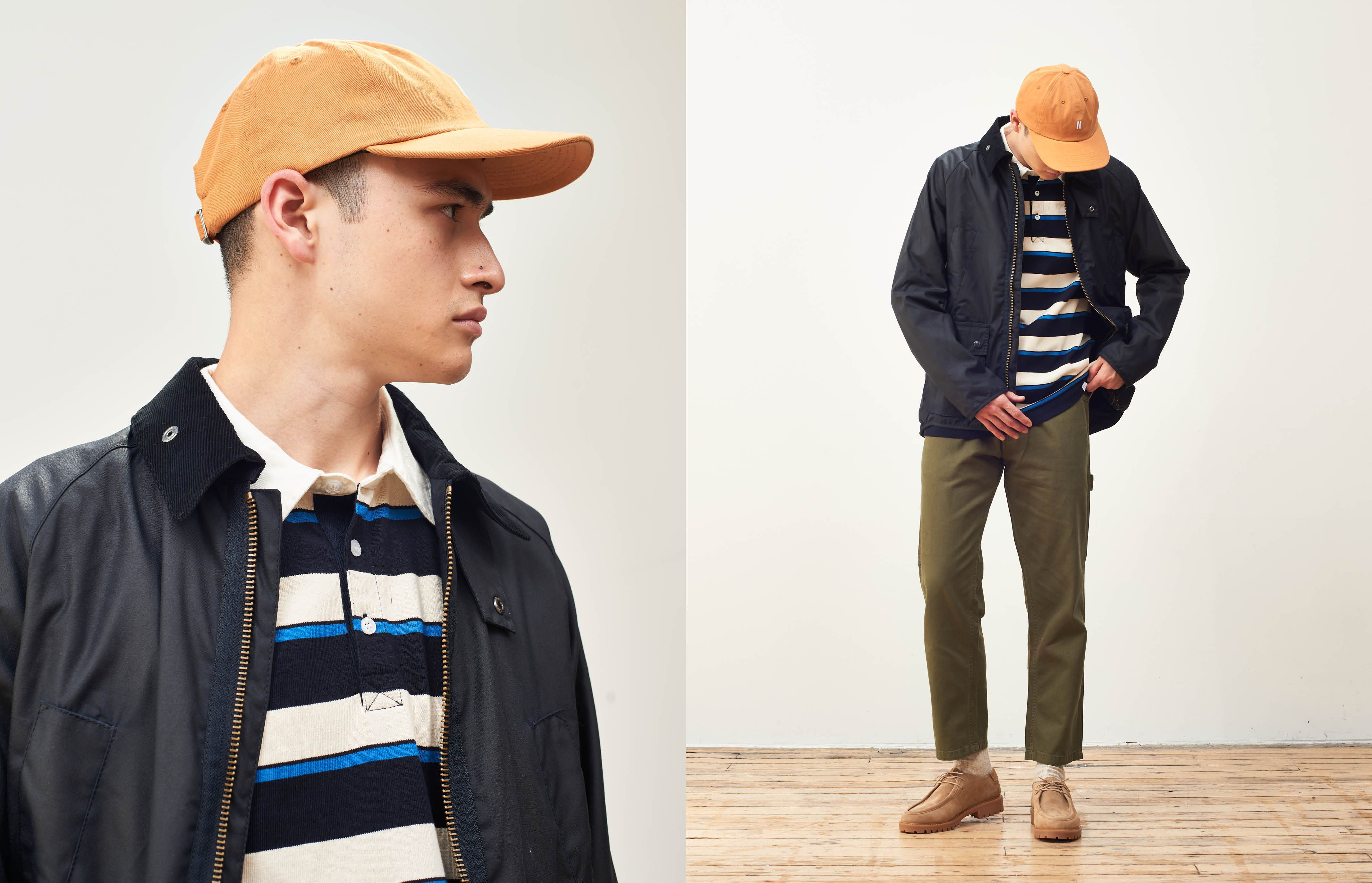 A fresh way to wear a heritage jacket