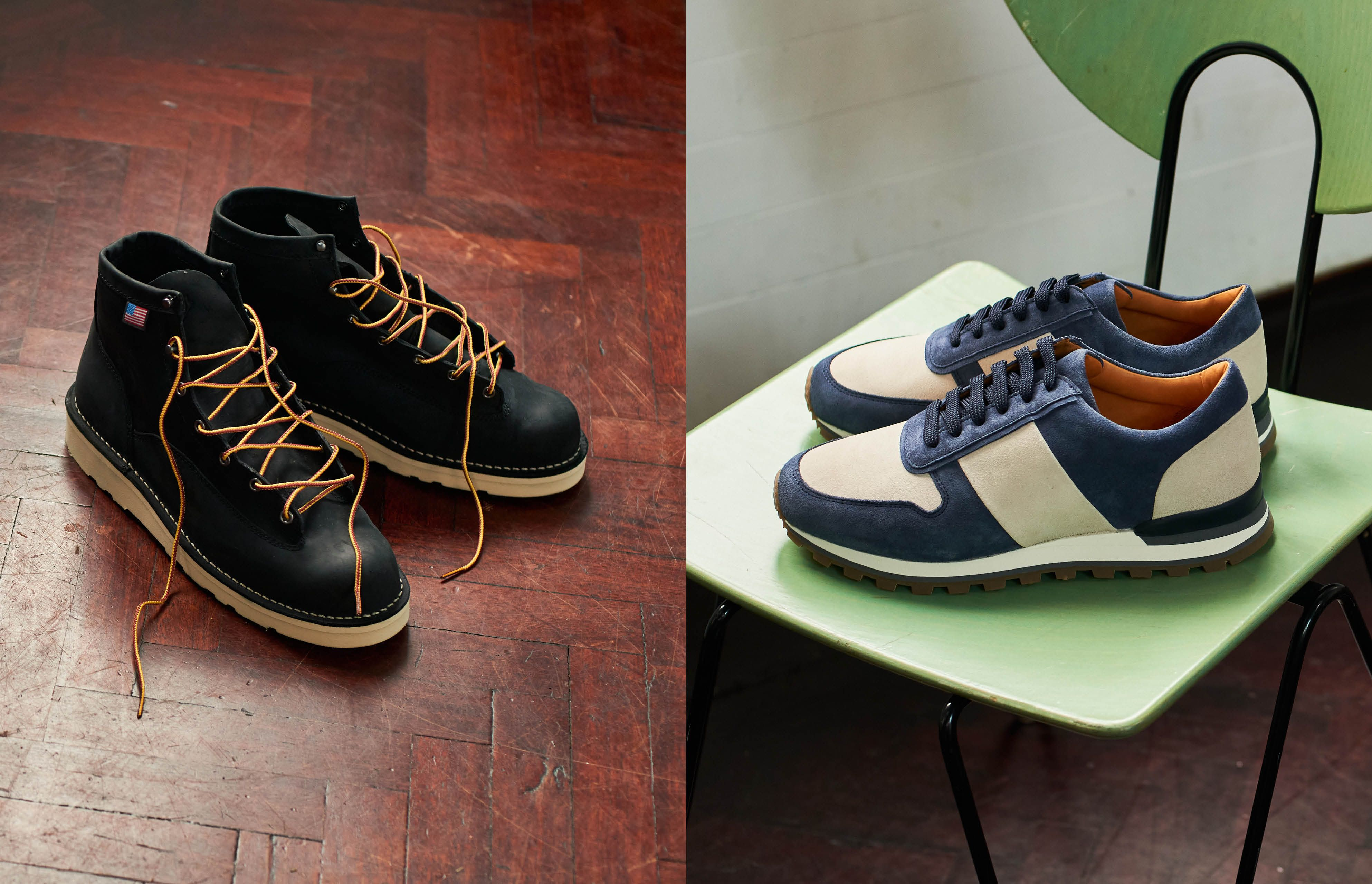 Four essential footwear styles for autumn