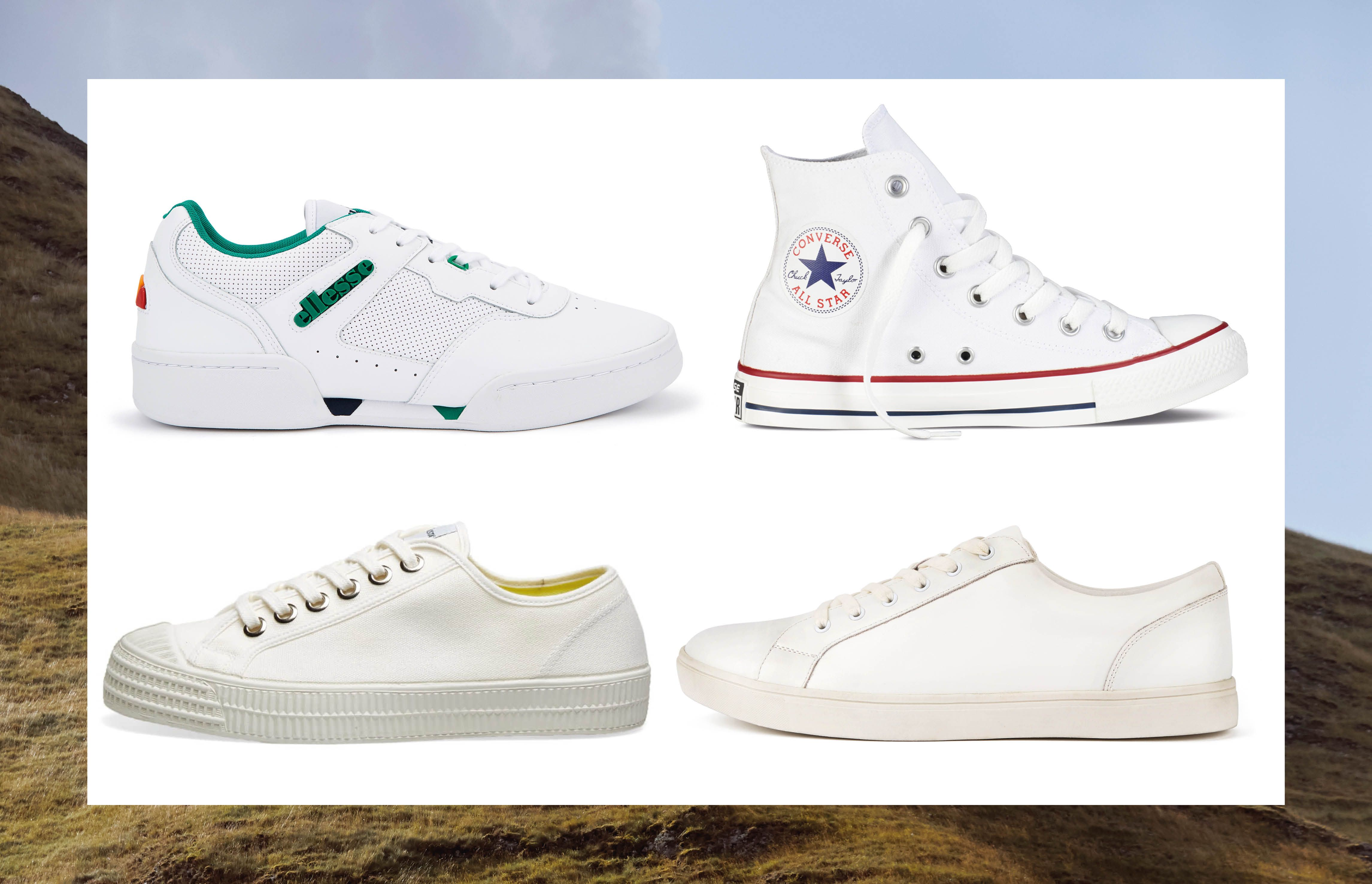 Five of the best white trainers for your budget