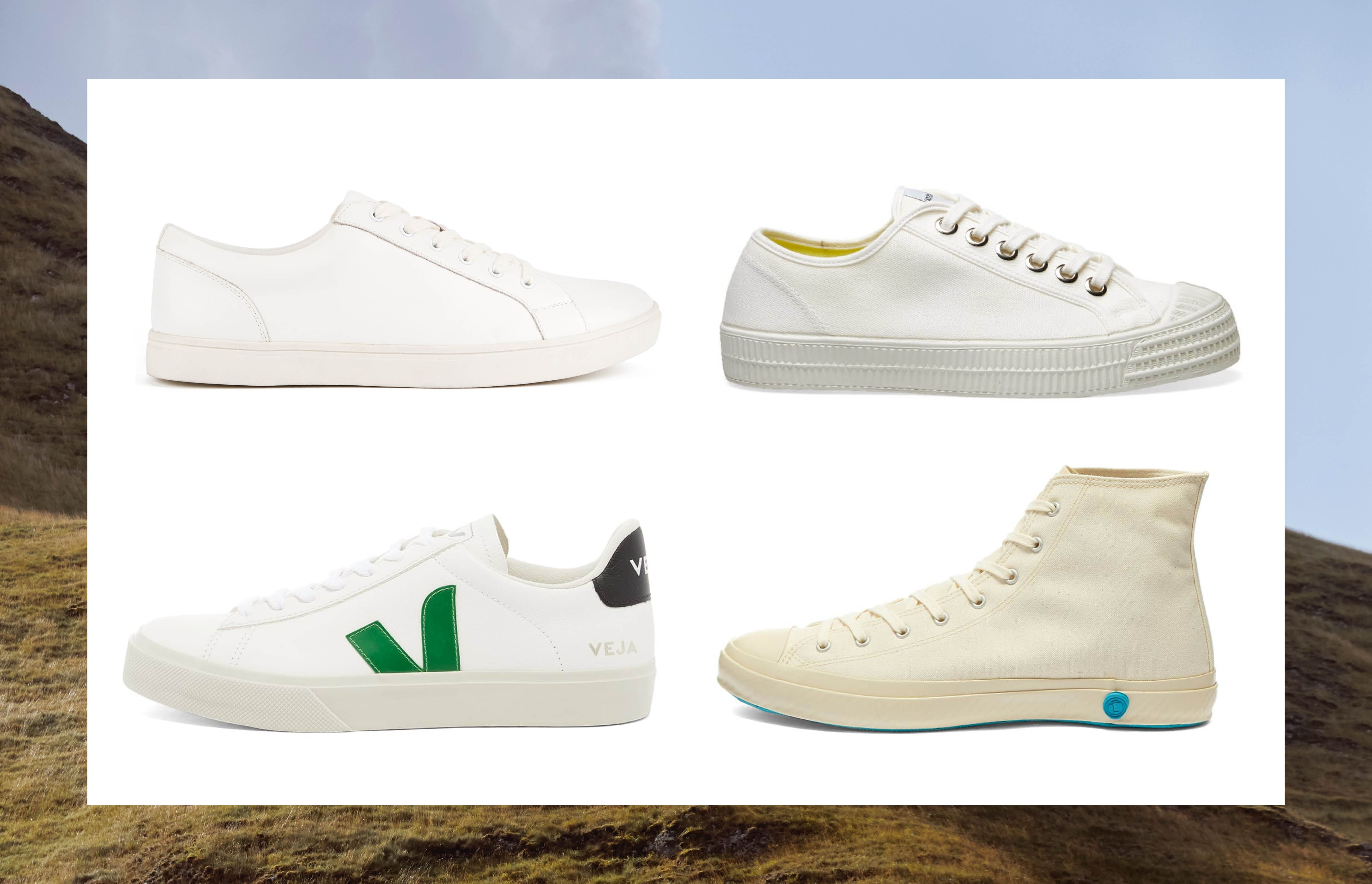 Our favourite white trainers of the season