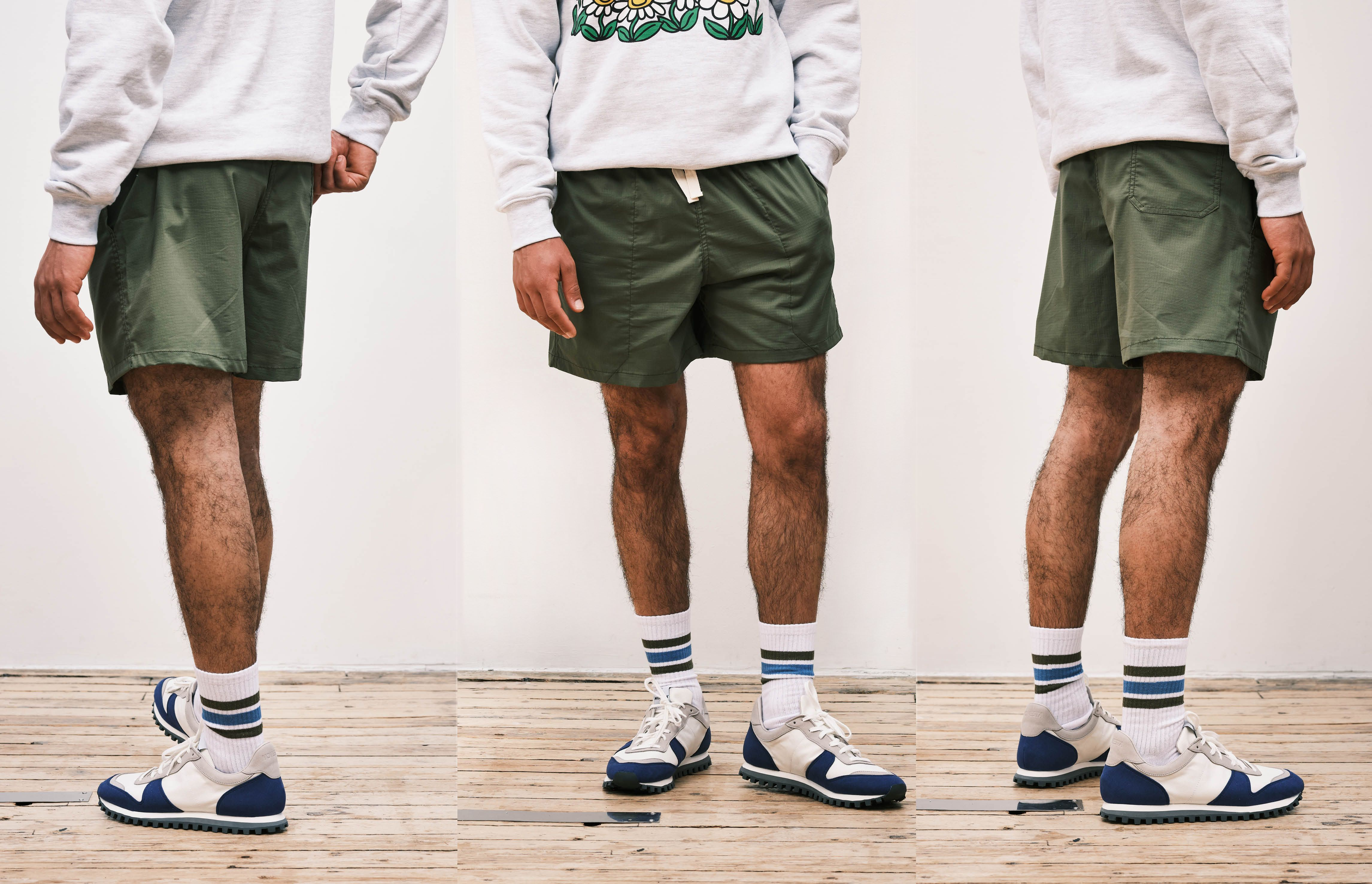 How shorts should fit if you have short legs
