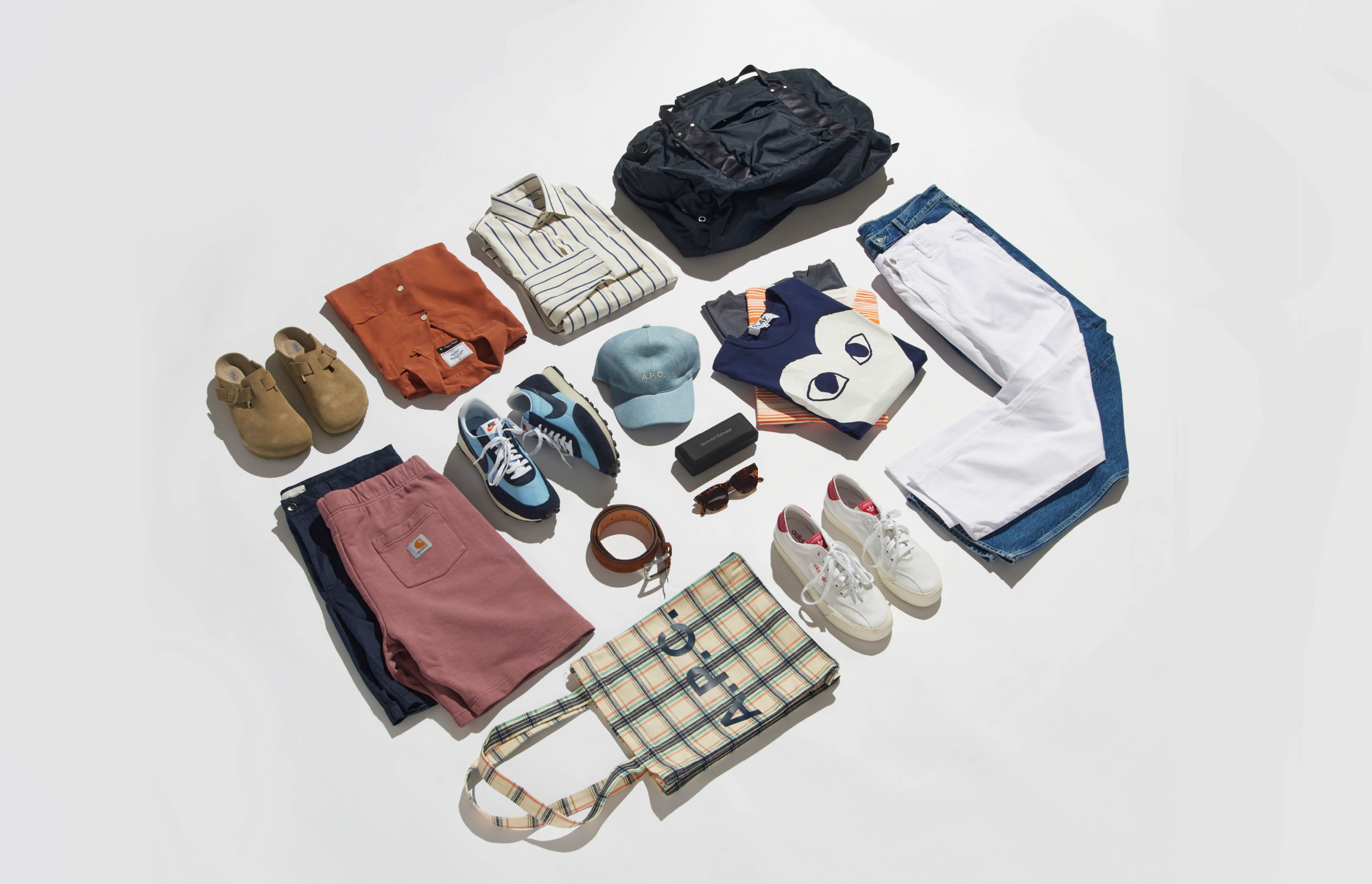Your staycation capsule wardrobe