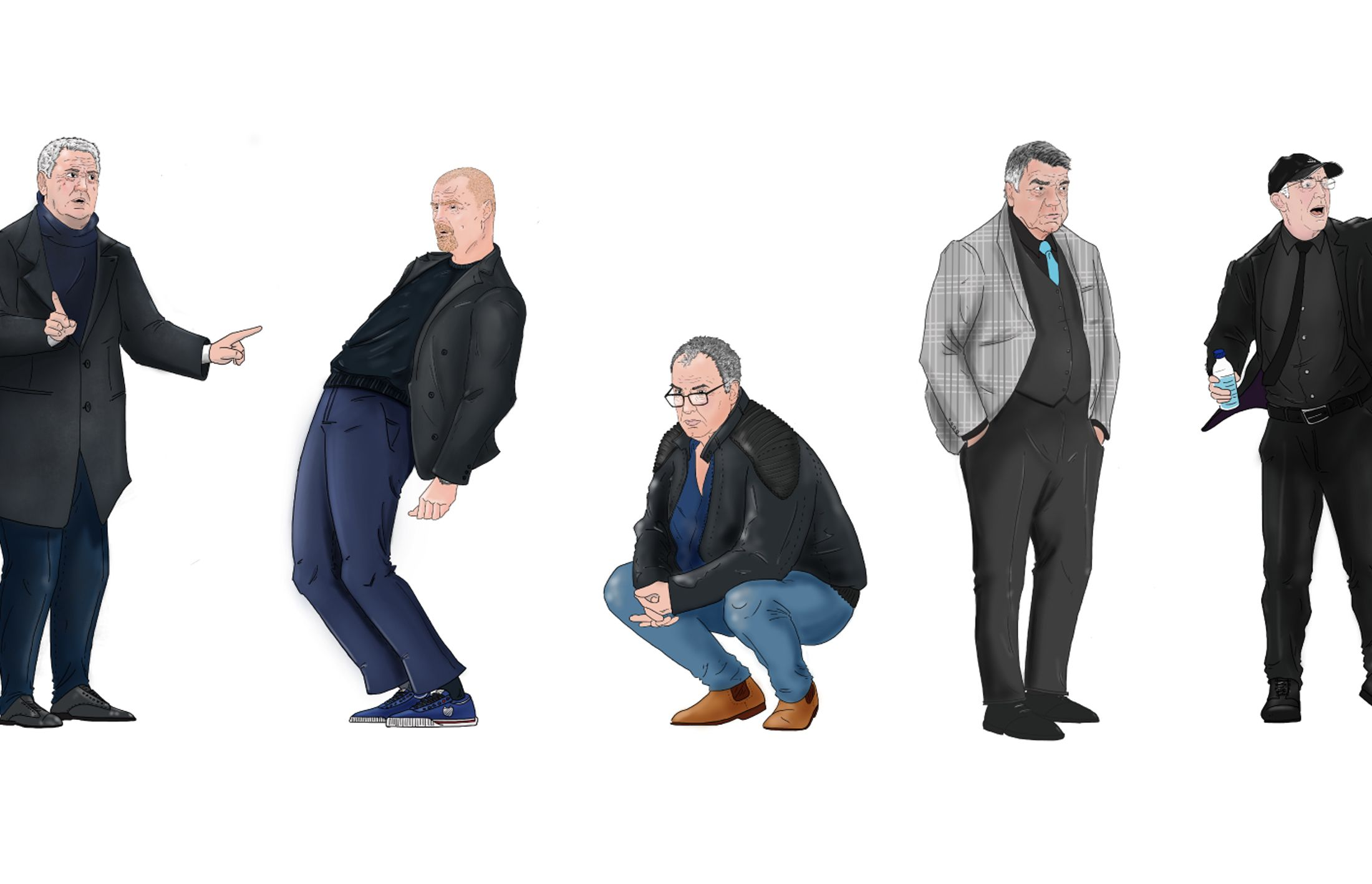Football managers style reimagined