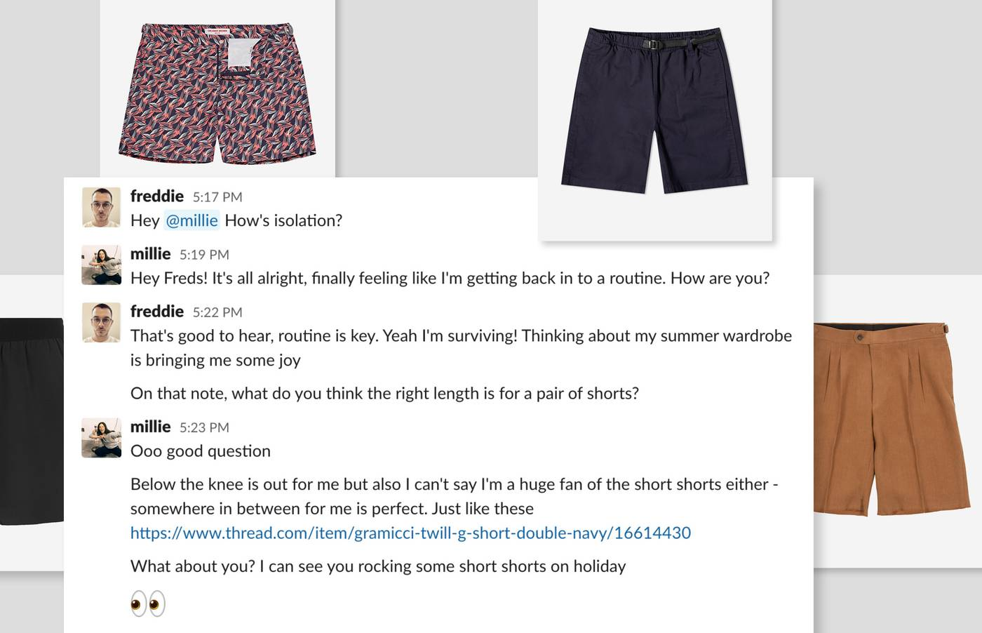 Our stylists discuss the best summer shorts