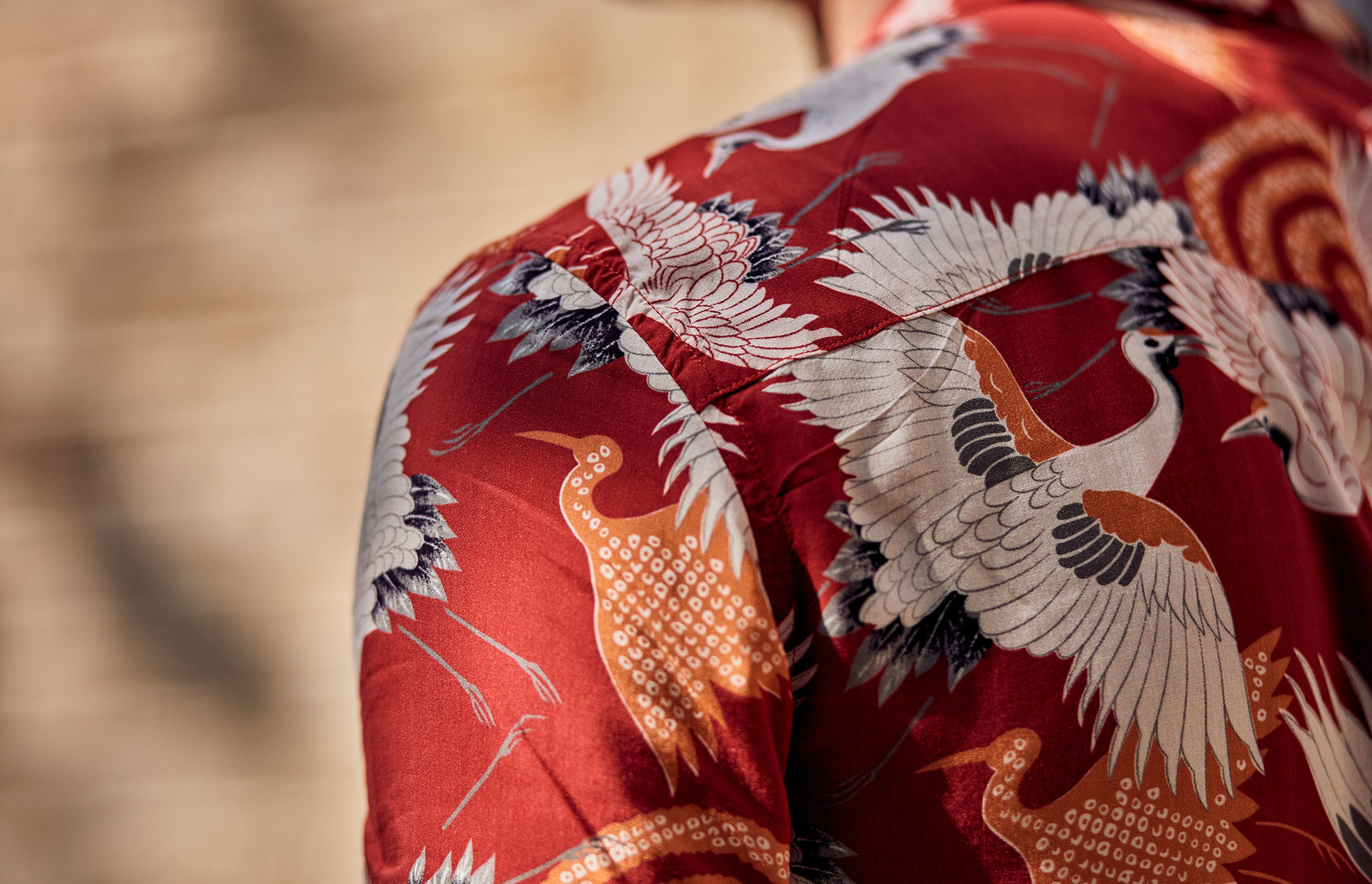 Four ways to wear a printed shirt