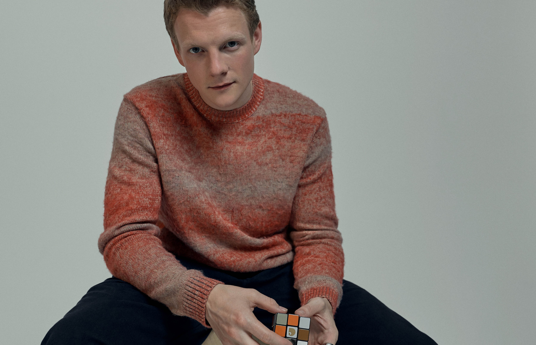 Tolkien star Patrick Gibson is on a quest