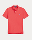 Slim Fit Polo Shirt in Red