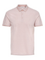 Slim Fit Polo in Pink