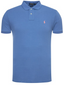 Slim Fit Polo Shirt in Blue