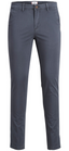 Marco Bowie Slim Fit Chinos in Grey