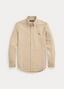 Slim Fit Oxford Shirt in Neutral