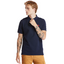 Millers River Organic Cotton Polo Shirt in Navy