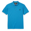 Millers River Organic Cotton Short Sleeve Polo Shirt in Blue