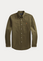 Slim Fit Oxford Shirt in Green