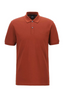 Regular-fit polo shirt in Pima-cotton piqué in Red