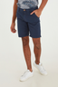 Casual Cotton Shorts in Navy