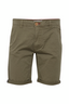 Casual Cotton Shorts in Green
