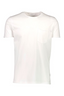 Relaxed Fit Cotton Short Sleeve T-Shirt in White
