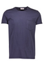 Relaxed Fit Cotton Short Sleeve T-Shirt in Navy
