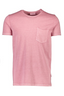 Relaxed Fit Cotton Short Sleeve T-Shirt in Pink