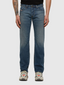 Larkee Straight Fit Stretch Jeans in Blue