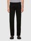 Larkee Straight Fit Stretch Jeans in Black