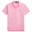 Slim Fit Polo Shirt in Pink