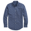 Slim Fit Floral Oxford Shirt in Navy