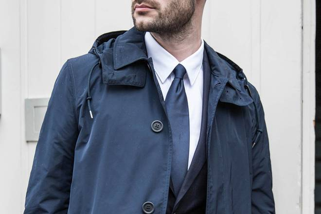 One small change: Upgrade your raincoat