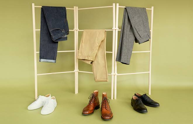 How to match your shoes and trousers