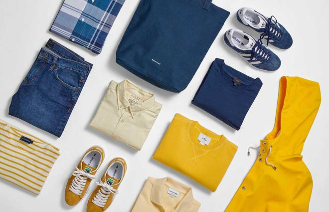Three go-to summer colour combos