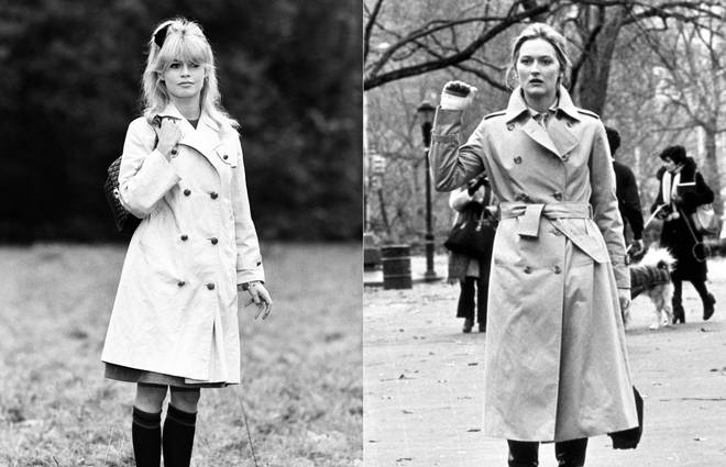 Our favourite trench-coat-on-film moments