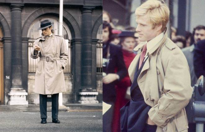 The best trench coats-on-film moments